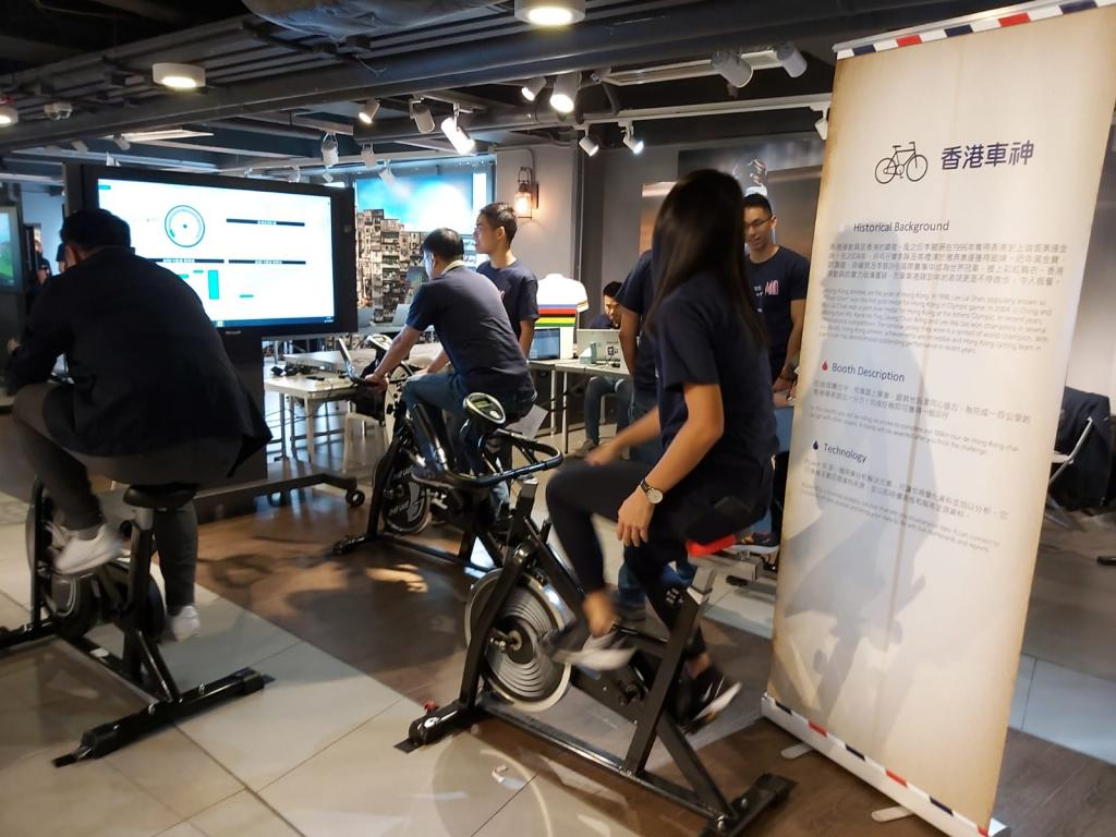 Microsoft Hong Kong introduced fun with technology to the public