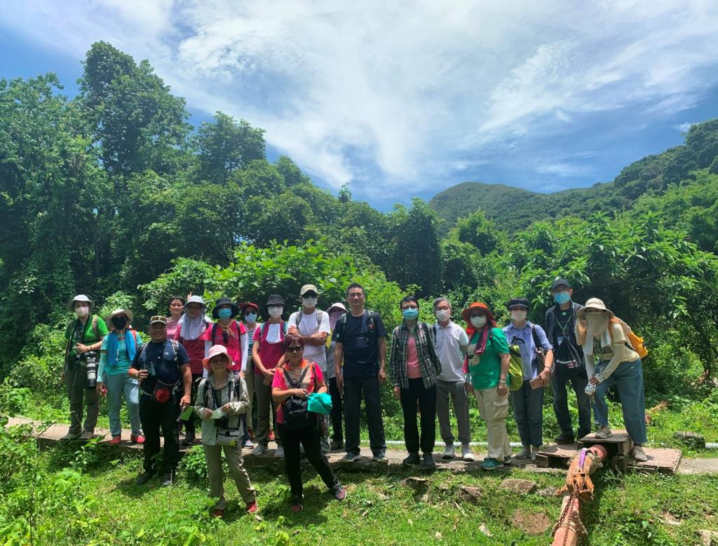 The Association organised local eco-tours for elders