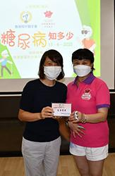 Lecture tour on diabetes to promote healthy diet