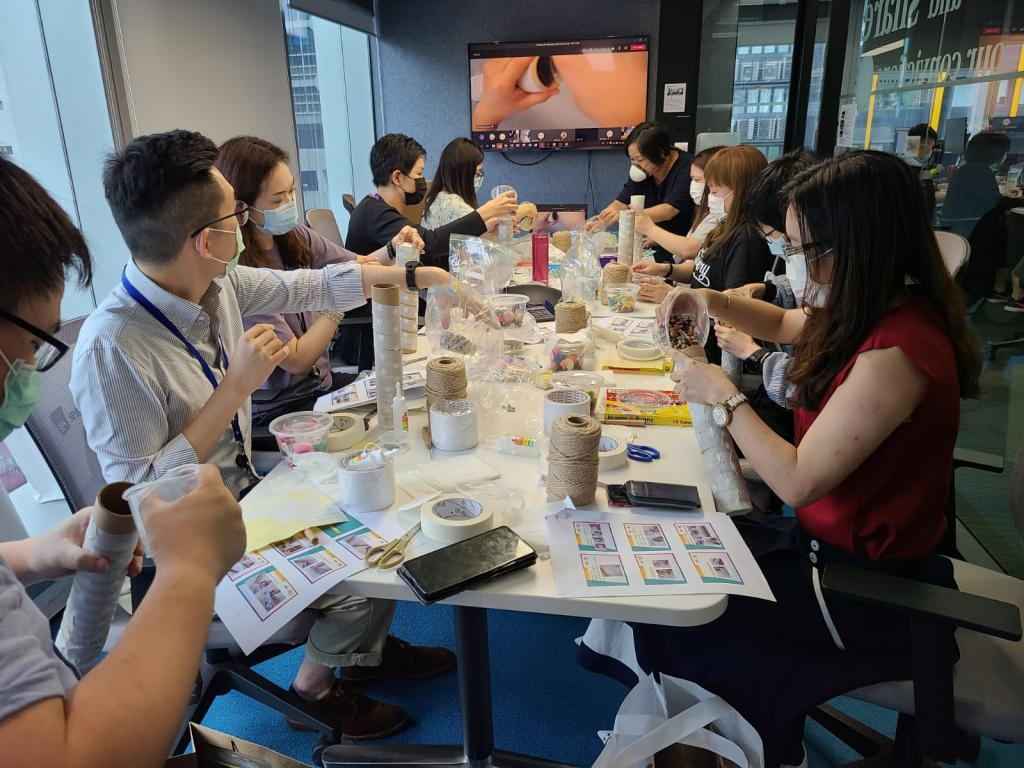 AXA Hong Kong promoted mental wellness among YWCA's service…