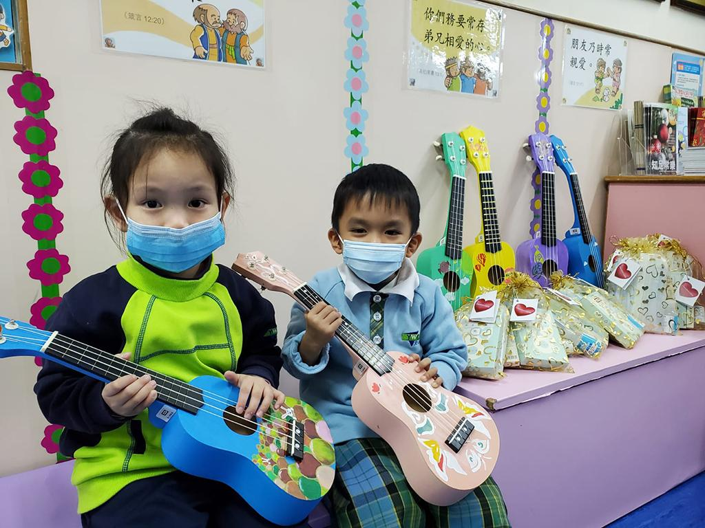 Chevalier Group donated handmade Ukuleles to children in low…