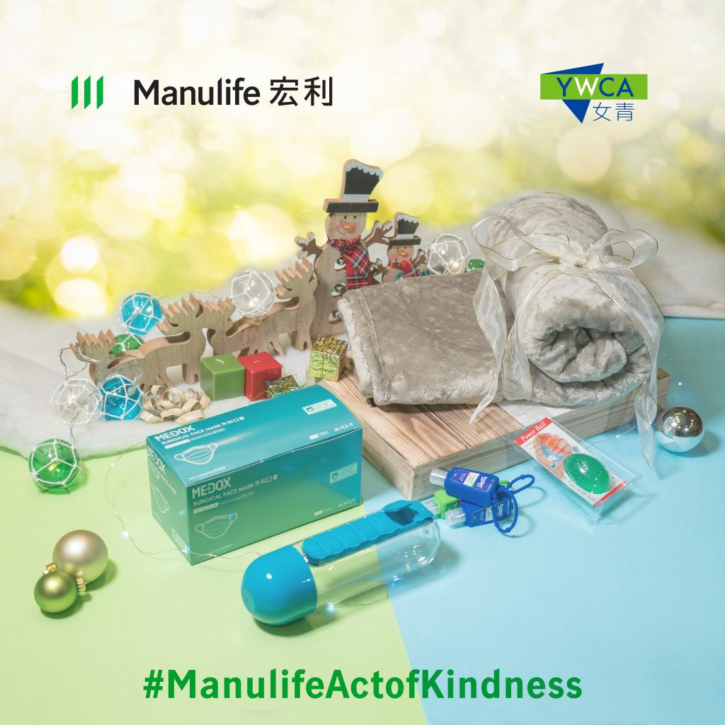 Manulife sponsors employees to donate gift bags to elderly